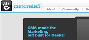 gratis publiceringsverktyg (cms) - concrete5