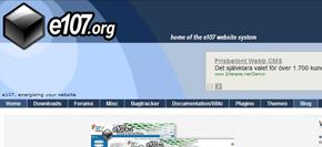 gratis publiceringsverktyg (cms) - e107