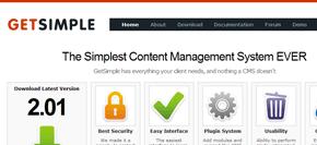 gratis publiceringsverktyg (cms) - getsimple