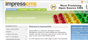 gratis publiceringsverktyg (cms) - impresscms