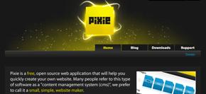 gratis publiceringsverktyg (cms) - pixie
