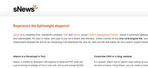 gratis publiceringsverktyg (cms) - snews