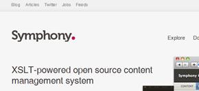 gratis publiceringsverktyg (cms) - symphony
