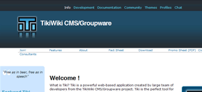 gratis publiceringsverktyg (cms) - tikiwiki
