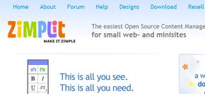 gratis publiceringsverktyg (cms) - zimplit